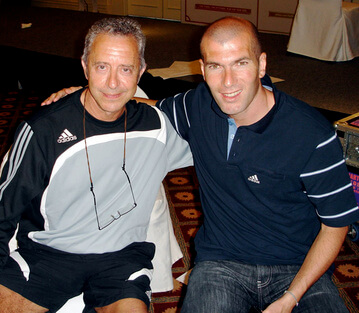 Alf with Zidane