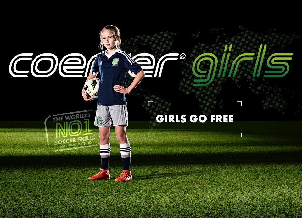 Coerver Girls Go Free