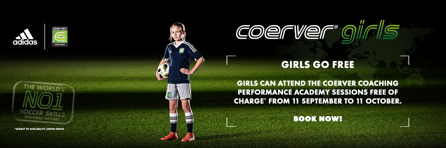 All girls under age 18 can go free to Performance Academy for a month. The campaign starts on 11th September until Friday 11th October